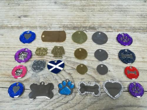 Pet Tags for Engraving